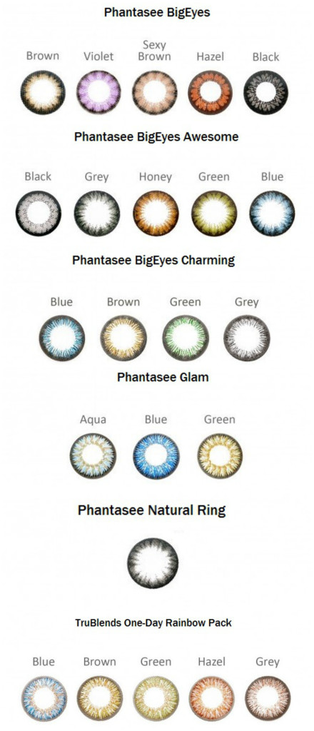 Phantasee lesiai
