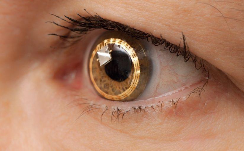 Akių lęšiai ir technologijos