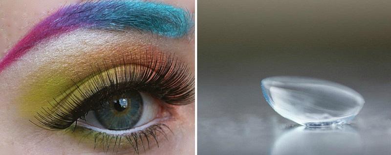 Makiažas ir kontaktiniai lęšiai: ką verta žinoti?