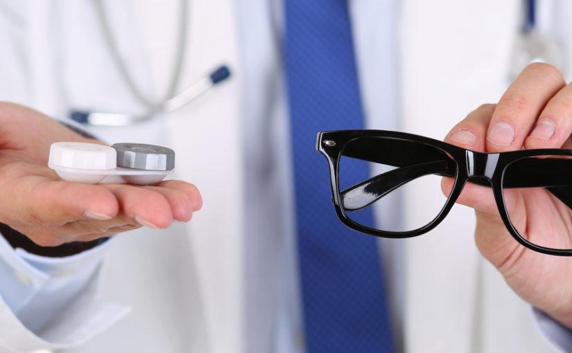 Kodėl lęšiai geriau už akinius?
